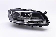 VW Passat 11-14 Black Headlight Headlamp Right Driver Off Side O/S OEM Valeo