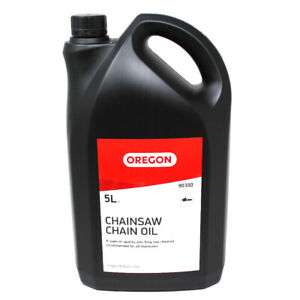 5 LITRE OREGON® 90300 CHAINSAW CHAIN OIL SUPERIOR QUALITY OIL FOR ALL CHAINSAWS