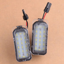 2pcs LED License Number Plate Light Lamp for Ford Fiesta Focus Kuga Mondeo Grand