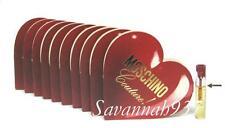 Moschino Couture Eau De Parfum Women Sample Vial in Red Heart Card - Lot of 100