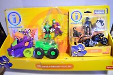 Imaginext fisher price DC super friends gift set w/ DVD and catwoman lot NEW
