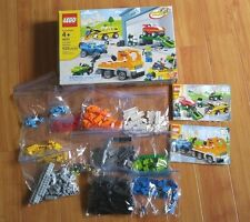 Lego 4635 Fun with Vehicles - used completed set with box and instruction