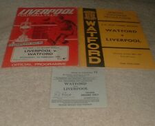 More details for liverpool  v watford fc 1966/67 fa cup 3rd rd + replay + ticket