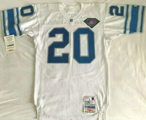 VERY RARE NEW Size 44 Authentic White Wilson 1994 Lions Barry Sanders Jersey