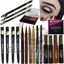Technic Eyebrow Makeup Brow Kit Pencil Pen Boost Define Sculpt Shape Black Brown