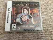 Cate West: The Vanishing Files Nintendo DS New Sealed