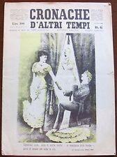 CRONACHE D'ALTRI TEMPI - N.6, 1954 Rimesse in Luce da Tem Agostini, Baldini ec*