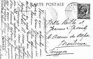 ITALY/SENEGAL Shipmail postcard Dakar to Switzerland 1920: Scarce.