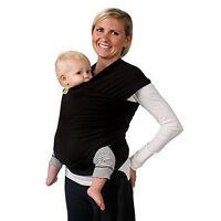 Tragetuch elastisch Babytrage Tragehilfe Bauchtrag Babycarrier Babytragtuch