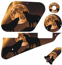 Kit Pickguard Scratchplate Graphical Covers Gibson Les Paul Guitar Mojo Moon New