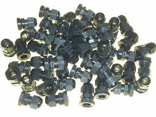 50 x 20mm compression cable glands black waterproof IP68 M20 TRS stuffing gland