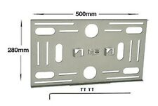 "BT8000 23-60"" LCD PLASMA SCREEN MOUNT PLATE LOW PROFILE, SILVER FINISH"