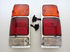 HOLDEN RODEO TF TFR ISUZU UTE PAIR OF CHROME TAILLIGHT VAUXHALL BRAVA TAIL LIGHT