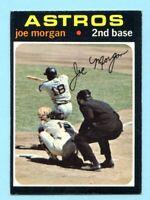 1971 Topps # 264 Joe Morgan -- Astros  (EX-MT)    Lot # 702