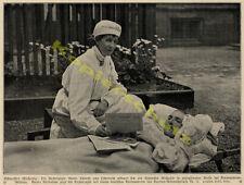 ARCHIDUCHESSE MARIE THERESE croix rouge infirmière K.u.K. hôpital VIENNE 1915