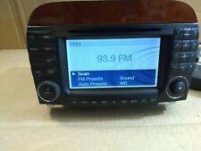 03-06 Mercedes W215 CL500 S500 Navigation Command Comand Head Unit CD Audio OEM