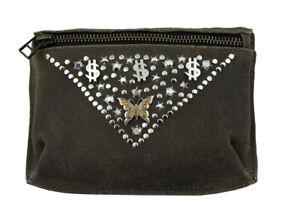 WESTERN-SPEICHER Hip Belt Bag Leather Rhinestone Swarovski Element WS032