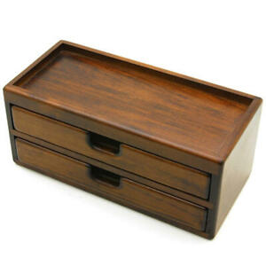 Toyooka Wooden Fountain Pen Storage Box Collection Case 8 pens NEW w/Tracking