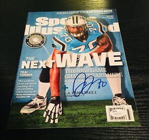 Trai Turner Autographed Sports Illustrated Magazine Carolina Panthers/ JSA