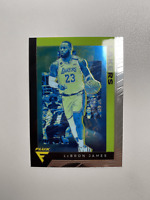 2019-20 Panini Chronicles #591 Lebron James Flux Green Lakers Card