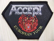 Aufnäher - Patch - Accept - European Tour - Scorpions - Whitesnake - 80/90´s