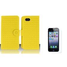 Fundas de color principal amarillo de silicona/goma para teléfonos móviles y PDAs