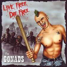 THE GONADS Live free, die free CD (2008 Empty)