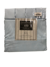 NEW Chateau Royale Luxury Linen 1050 Thread Count  6pc Sheet Set FULL Blue