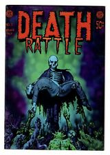 DEATH RATTLE NO. 1 UNDERGROUND COMIC BOOK VF 1972 1ST PRINT KITCHEN SINK