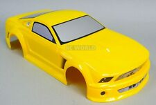 1/10 RC Car BODY Shell FORD MUSTANG 200mm Fits HPI *PRE- FINISHED* YELLOW