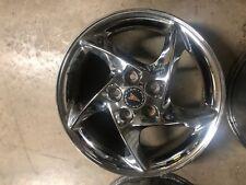"""Pontiac Grand Prix Factory Stock OEM Wheel Rim 17"""" Chrome Comp G GTP 2004-08"""