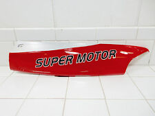 TAOTAO VIP 50cc & 150cc SCOOTER BOTTOM LEFT SIDE PLASTIC (RED/SILVER) #1
