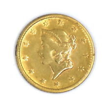 1853 LIBERTY HEAD $1 DOLLAR 90% GOLD RARE US COLLECTIBLE NUMISMATIC COIN