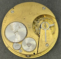 Morrison Rirr Pocket Watch Movement Dial English Lever 42 Mm Openface F4640