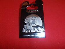 1 Disney Peter Pan Pin   3D Thick Skull Rock     As Seen Lot W