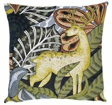 """PSYCHEDEERIC III, 18"""" TAPESTRY CUSHION COVER 5492, 100% COTTON, MADE IN BELGIUM"""