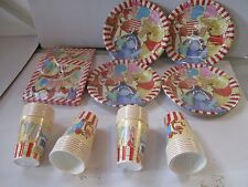Winnie The Pooh 32 Plates, 32 Cups, 40 Napkins - Party Pack - Tableware for 32
