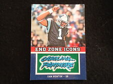Cam Newton 2011 Topps  Manufactured Team End Zone Icons  Insert PANTHERS