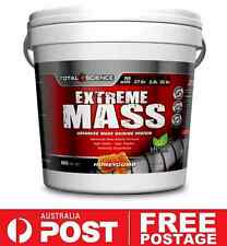 Total Science EXTREME MASS 4kg Honeycomb | Weight Muscle Gain High Calorie Shake