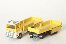 Matchbox K21 Ford Transcontinental H Series Yellow with Trailer (123378)