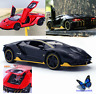 1:32  Lamborghini  Diecast Model Vehicles Sound  Light Pull Back Alloy Cars Toys