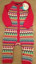 Little Bird By Jools Oliver 3-6 Months knitted Fairisle All In One ** Bnwt **