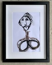 Guy Figurative Illustration Ink And Pen On Paper