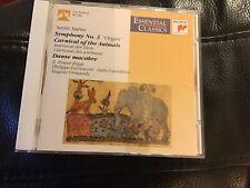 Saint-Saens: Organ Symphony, Dance Macabre, Carnival of the Animals. Ormandy CBS