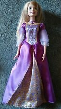 Barbie singing princess Rapunzel doll