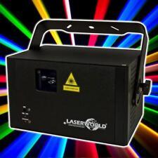 Laserworld cs-1000 RGB MKII show láser DMX ilda 30 kpps galvo-sistema gráfico láser