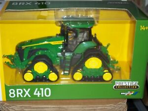 BRITAINS   43249 JOHN DEERE 8 RX 410 ROW CROP    TRACTOR       NEW BOXED