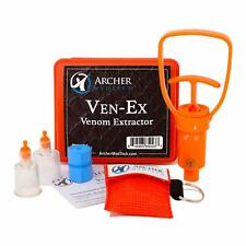 The Extractor Bite /& sting Kit Snake wasp venom suction removal NEW ISP bee