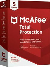 McAfee Total Protection 2019 - 05 Years 01 Device PC,Laptop,Mac[ Fast Delivery ]