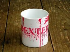 Dexter Blood All Over Logo MUG